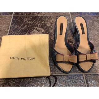 LOUIS VUITTON - 美品 ルイヴィトン LOUIS VITTON ミュール サンダル