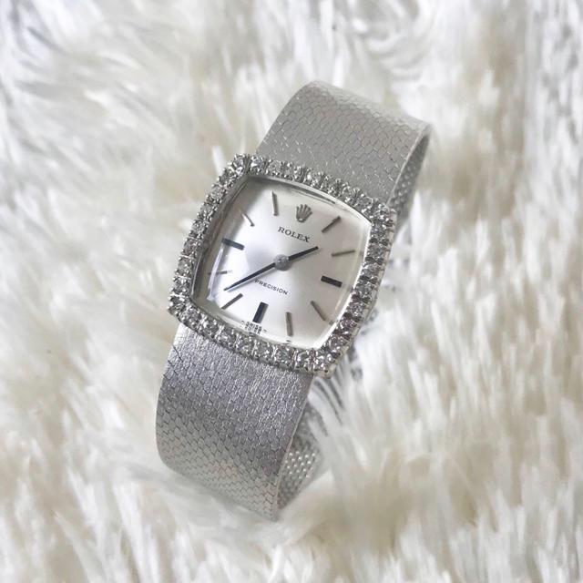 オメガ omega / ROLEX - 美品✨ロレックス Rolex ダイヤモンド ジュエリーウォッチ レディース腕時計の通販 by Balocco's shop