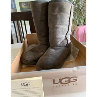 アグ(UGG)のUGG ブーツ (グレー) W CLASSIC TALL GREY(ブーツ)