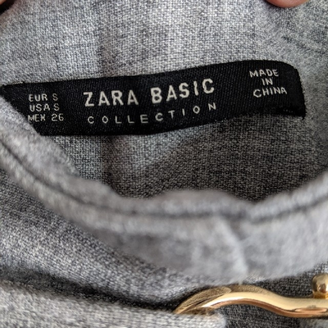 ZARA(ザラ)のZARAハイウエストストレートパンツ レディースのパンツ(その他)の商品写真