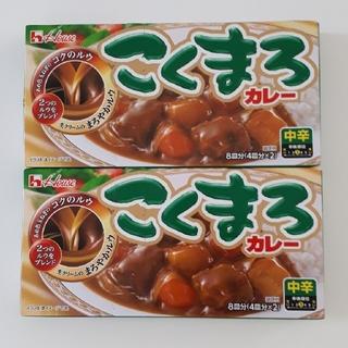 ハウスショクヒン(ハウス食品)のこくまろカレー  中辛 2箱(その他)