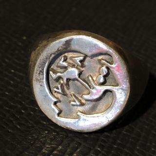 オーバル イグアナ SILVER925 17号リング シルバー925 銀指輪(リング(指輪))