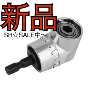 新品 L型 ドライバー ライトアングルドリル  人気 (工具/メンテナンス)
