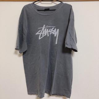 ステューシー(STUSSY)の☆値下げ☆STUSSY Tシャツ グレー L(Tシャツ/カットソー(半袖/袖なし))