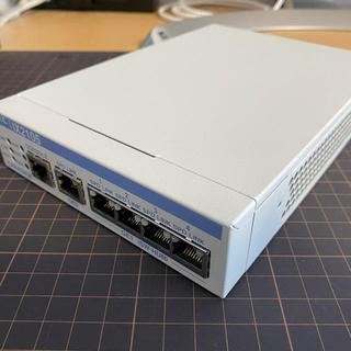 エヌイーシー(NEC)のNEC VPN ルーター IX2105 最新ファームウェアアップデート済み(PC周辺機器)