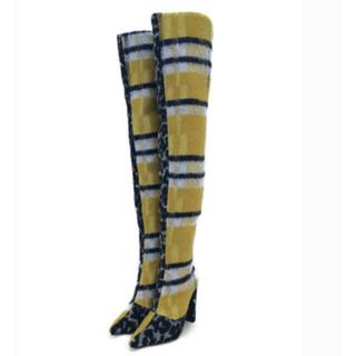 イエローブーツ(Yellow boots)の新品未使用yellowboots ニーハイブーツ(ブーツ)