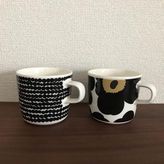 marimekko - マリメッコ  マグカップ ウニッコ&ラシィマット セット