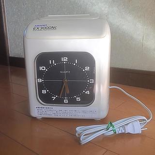 電子タイムレコーダー AMANO アマノ EX3000Nc 中古品