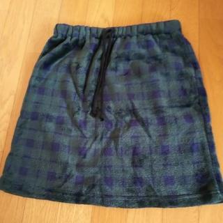 シマムラ(しまむら)のしまむら モコモコスカート Mサイズ(ひざ丈スカート)