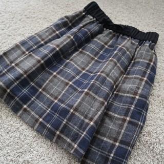 グリーンレーベルリラクシング(green label relaxing)のフレアスカート(ひざ丈スカート)