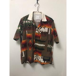 サカイ(sacai)のsacai pendleton 19ss  ネイティブ柄 半袖シャツ(シャツ)