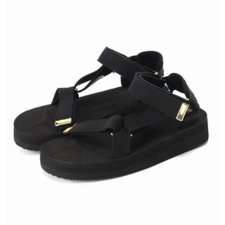 DEUXIEME CLASSE - SUICOKE Suede Sandals Deuxieme Classe 黒