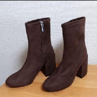 マウジー(moussy)の新品 MOUSSY FAKE SUEDE SHORT BOOTS(ブーツ)