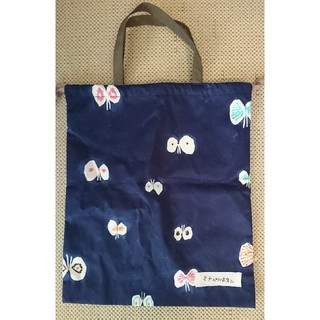 mina perhonen - ミナペルホネン  巾着袋 ちょうちょ ショップバッグ