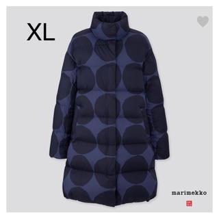 marimekko - 日本未発売★marimekko×uniqlo ロングウルトラライトダウン XL