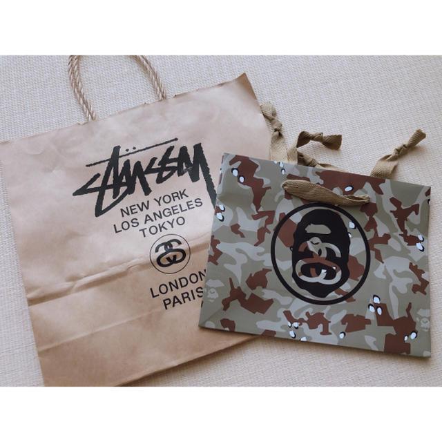 STUSSY(ステューシー)のお値下げ‼️STUSSY ショップバッグ 限定バッグ レディースのバッグ(ショップ袋)の商品写真
