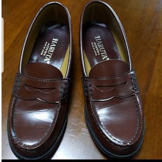ハルタ(HARUTA)のハルタローファー ブラウン 24.5センチ(ローファー/革靴)