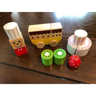 エド・インター積木ブロックケーキ屋さん(積み木/ブロック)