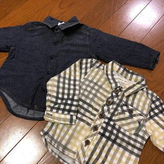 ビケット(Biquette)の■ビケット他■長袖シャツ■80(シャツ/カットソー)