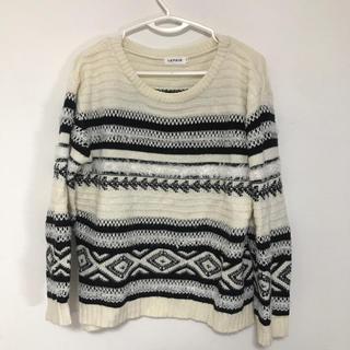 レプシィム(LEPSIM)のLEPSIM セーター Fサイズ(ニット/セーター)