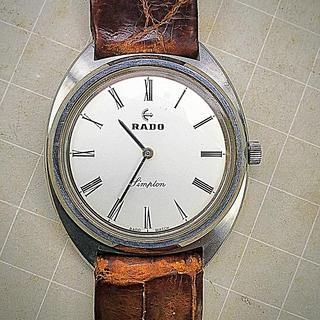 ラドー(RADO)のRADO  手巻き  メンズ(腕時計(アナログ))