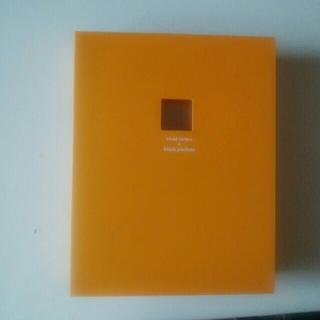 コクヨ(コクヨ)のコクヨ ポシェットアルバム 黒台紙 オレンジ(アルバム)
