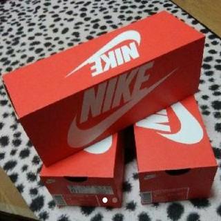 ナイキ(NIKE)の新品 未使用 送料込み NIKE 靴箱 ナイキ 空箱 最低価格 300円(その他)