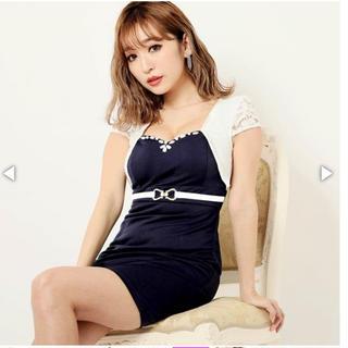 デイジーストア(dazzy store)の盛りドレス レイヤード風アシメタイトミニドレス(ミニドレス)