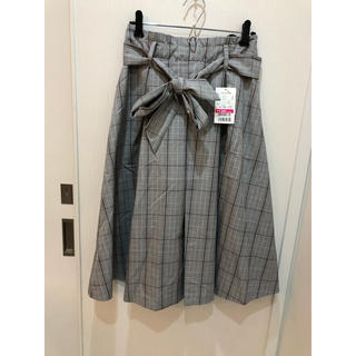 グラシア グレンチェック  スカート 新品 L
