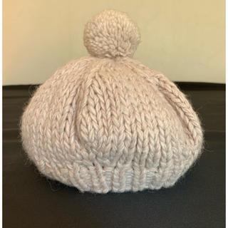 サマンサモスモス(SM2)のSM2  ニットベレー帽(ニット帽/ビーニー)