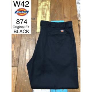 ディッキーズ(Dickies)の39660 アメリカ 輸入 USED ディッキーズ 874 ブラック W42(ワークパンツ/カーゴパンツ)