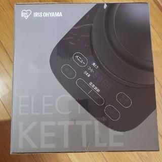 アイリスオーヤマ(アイリスオーヤマ)のアイリスオーヤマ 温度調整機能、空焚き防止機能付電気ケトル IKE-D1000T(電気ケトル)
