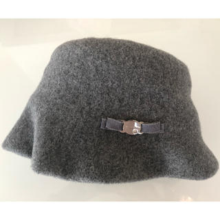 アンテプリマ(ANTEPRIMA)の【美品】ANTEPRIMA冬用帽子(ハット)
