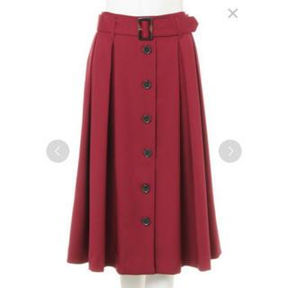 INGNI - INGNI ベルト付きロングスカート