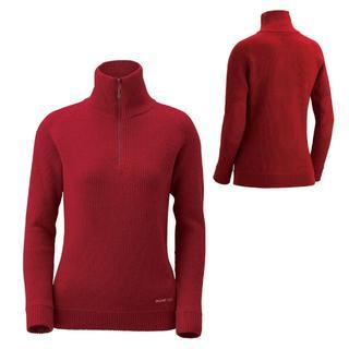 モンベル(mont bell)の美品 モンベル ミッテルレギ ハーフジップ セーター Women's サイズM (ニット/セーター)