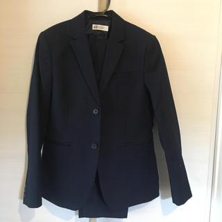 エイチアンドエム(H&M)の《美品・クリーニング済》H&M  上下スーツ シャツ ネクタイ付 150 160(ドレス/フォーマル)
