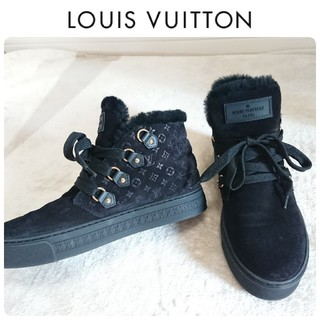 LOUIS VUITTON - ヴィトン ムートン モノグラム スニーカー