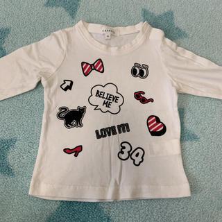 サンカンシオン(3can4on)の長袖Tシャツ90センチ (Tシャツ/カットソー)