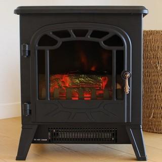 アンティーク 暖炉型ファンヒーター アンダルシア