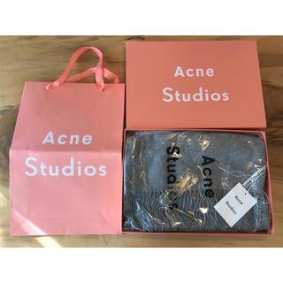 ACNE - 【最安】新品未使用 Acne Studios アクネ 大判ストール グレー