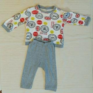 80サイズ パジャマ3枚セット