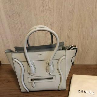 celine - 新品 celine セリーヌ ラゲージ マイクロ バッグ