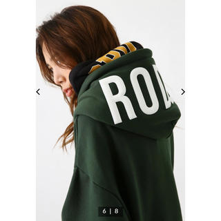 RODEO CROWNS WIDE BOWL - OVER LAP W HOOD パーカー