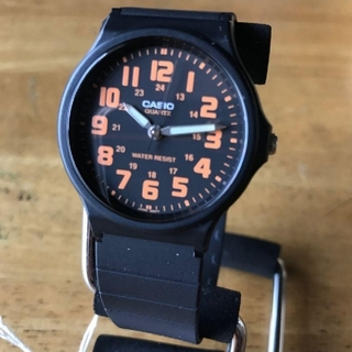 CASIO - 【新品】カシオ CASIO レディース 腕時計 MQ71-4B オレンジ
