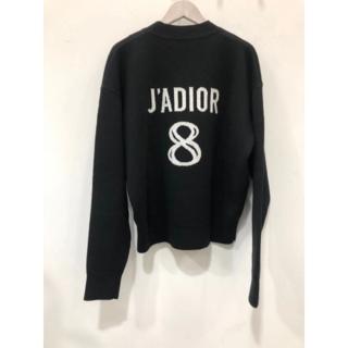 """ディオール(Dior)の美品Dior デイオール セーター""""J'adior 8"""" 刺繍入り (ニット/セーター)"""