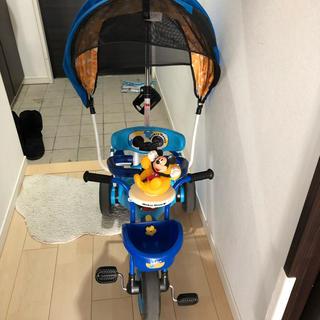 ディズニー(Disney)のpuyoharu様専用〜ミッキー 三輪車(三輪車)