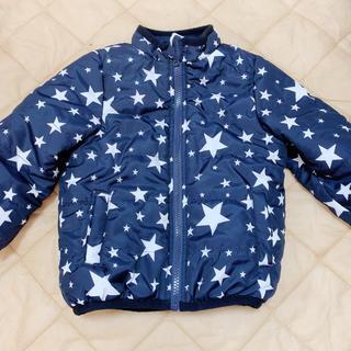 しまむら - 星柄中綿コート 95cm