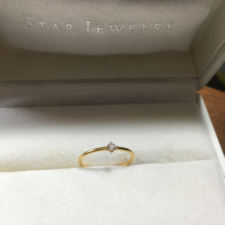ete - 【ete】一粒ダイヤモンドリング