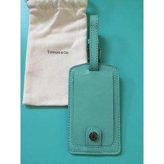 ティファニー(Tiffany & Co.)の新品☆ティファニーラゲージタグ ティファニーブルー(旅行用品)