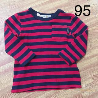 フタフタ(futafuta)のボーダーロンT 長袖 男の子95(Tシャツ/カットソー)